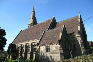 Image of St John's church, Marchington Woodlands